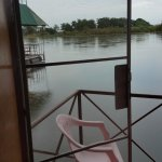 view from raft room facing river