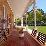 veranda on to garden