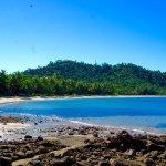 Bingil Bay Beach, our local beach and just a short walk from the Jackaroo Treehouse.