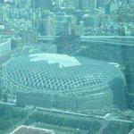 view of stadium from Taipei 101