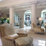 The foyer of The Hermitage Hotel in Monte Carlo