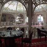 The Breakfast room at the Hotel Hermitage Monte Carlo