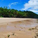 Garners Beach, a short walk from the Jackaroo Treehouse.