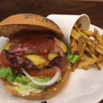 Burger with beetroot!
