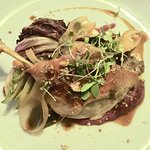 This is the main confit of Duck leg with whitlow
