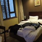 Its tough to get a twin-bed room in Beijing - rooms mostly have single Queen sized beds.