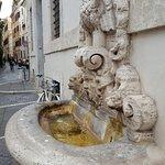 Interesting architecture near Campo De Fiori.