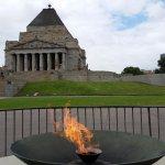 Shrine of Remembrance Foto