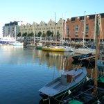 Yachts at the docks