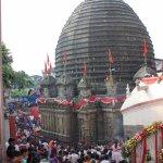 The sanctum sanctorum is beneath this dome.