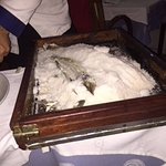 Salt Encrusted Sea Bass