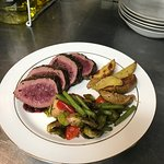 Venison Loin Fillet, seared and seasoned - DONE right!