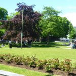 Eyre Square on a sunny day