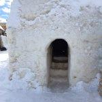 The stone sauna
