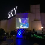 The fantastic Sky rooftop bar