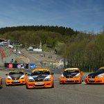 Jaco's Paddock fleet at Spa Francorchamps