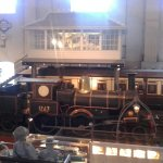 Locomotives, carriages and station displays