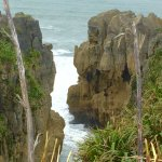 Pancake Rocks and Blowholes Walk Foto