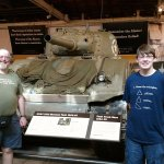 The Sherman Tank- just as you walk in! My son was so excited!