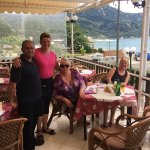 Great to see our friends George and Cathy again, good food and lovely view, family run, great fo