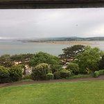 view across to Dawlish Warren from our window