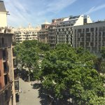 la pedrera view from the room