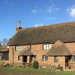 beautiful 20C thatched pub