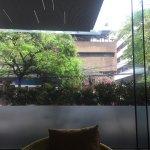 My view while enjoying breakfast.
