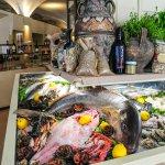 Il banco del pesce fresco