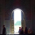Une des portes du Mosolée