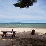 Beach front cabin
