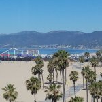 view from living room (Santa Monica pier)