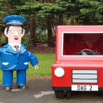 Postman pat (Jess is also on the side)