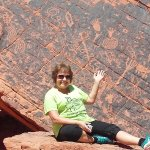 they have petroglyphs from Native Americans who lived there yrs ago