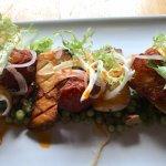 Grilled Mushroom & Halloumi