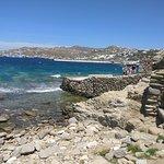 Mykonos beach near Niko