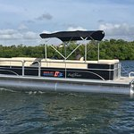 One of our new pontoons!