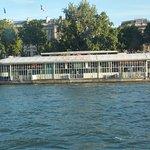 Riverside Barge Restaurant from Bato Bus