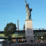 Stutue of Liberty from Bato Bus