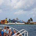 Llegando a Palm Island