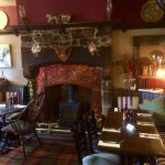 really nice traditional pub setting for the dining area