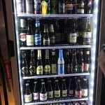 One of the beer fridges