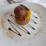 Dark Chocolate and Orange Mousse (not actually mousse, much heavier)