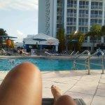 Enjoying me time at the pool