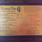 Bilde fra Lions Tap Family Restaurant