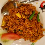 Nasi Goreng Aceh - comes in small portion, why?
