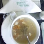 The chicken cream soup at cool feel