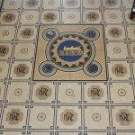Mosaic in lobby