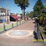 Peatonal de Atlántida donde está Don Vito.