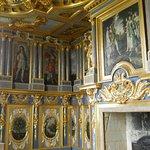 Le cabinet des muses. Décor début XVIIe siècle.